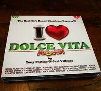 I Love Dolce Vita P.Lion/Den Harrow/Savage/Radiorama/Carrara Digipack 3x Cd Mint