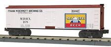 30-78166 MTH/Railking Reefer Car - Senate Beer- Chicago, ILL  3 Rail 0