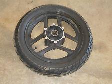 kawasaki zx600 ninja 600 front rim wheel tire 85 86 87 1985 1986 black zx600a