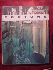 FORTUNE June 1961 HANS FALK SPIEGEL SST ATOMIC POWER ++