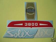 1LOT AUTOCOLLANTS + CONCESSIONNAIRE VELOSOLEX 22-DINAN N°6 SOLEX POUR 3800    .