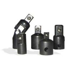 "New 5pc Heavy Duty Impact Reducer & Adapter Tool 3/8"" Universal Joint Socket Set"