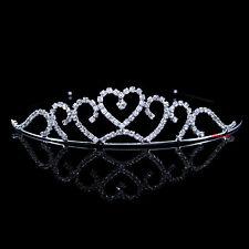 Kids Flower Girl Children Wedding Prom Tiara Crown Headband - Kid Size