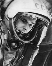 Soviet Cosmonaut YURI GAGARIN Glossy 8x10 Photo Print 'First Human In Space'