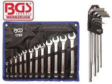 BGS clés plates Clé ANGLAISES Pouces Ensemble d'outils pour Harley clés à vis