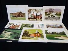 Jack and Frances Myers Woodblock Prints Cleveland Area Lot 486