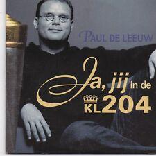 Paul De Leeuw-Ja Jij cd single