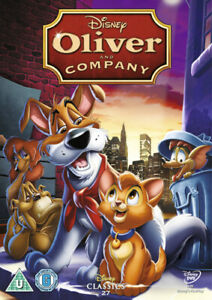 Oliver and Company DVD (2009) George Scribner cert U FREE Shipping, Save £s