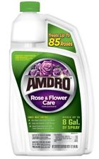 AMDRO Rose & Flower Care Concentrate Fungicide/Insecticide 32oz Makes 8 Gallons