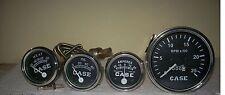 Case Tractor Temperature,Tachometer, Ammeter Gauge Set