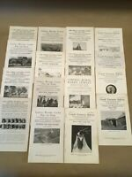 Lot of 1917 Cornell Reading Courses + Extension Bulletin AGRICULTURE Lot 3 of 6
