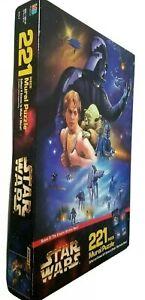Milton Bradley Star Wars Scene 2 Empire Strikes Back 221 Piece Mural Puzzle New