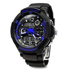 TOPCABIN Digital-analog Boys Girls Sport Digital Watch with Alarm Stopwatch C...