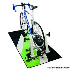 NEW EIGO TURBO TRAINER FLOOR MAT GREEN FLOW - CYCLE BIKE BICYCLE TRIATHLON