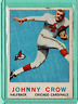 1959 Topps Johnny Crow Chicago Cardinals RC #105