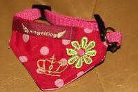 7321_Angeldog_Hundekleidung_Hundehalstuch_Hundehalsband mit Tuch_chihuahua_XXS