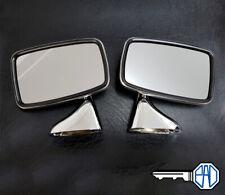 MG MGB MGB GT Tex Style Chrome Wing Mirror Set Inc Fixings GAM215R and GAM216R