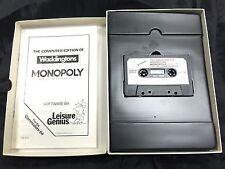 Commodore 64 RARE BOXED Game * MONOPOLY * C64