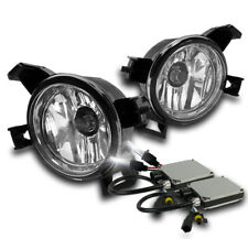 CHROME BUMPER FOG LIGHTS LAMP+HARNESS+8000K HID FOR 2005-2006 ALTIMA/2004+ QUEST