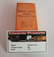 More details for copper ingot bars (1 kilo).