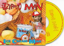 ZZZIPPOO MAN - Ice cream man CD SINGLE 2TR Eurodance 1995 Belgium Cardsleeve