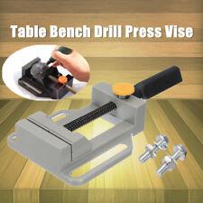 Drill Press Vise Clamp Bench Table Mechanic Machine Repair Tool DIY Grinding