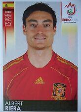 Panini 431 Albert Riera Spanien UEFA Euro 2008 Austria - Switzerland