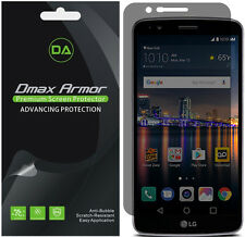 2-Pack Dmax Armor Privacy Anti-Spy Screen Protector for LG Stylo 3 Plus