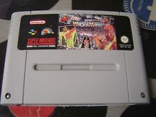 SNES WWF Super Wrestlemania (game only) PAL