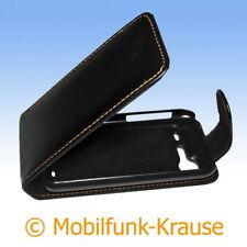 Flip Case Etui Handytasche Tasche Hülle f. HTC Incredible S (Schwarz)