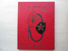 3D BATTALION REINF. 6th Marines 3rd 1963 YEARBOOK Camp Lejeune HARDCOVER BOOK