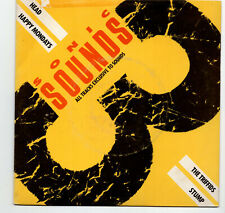 (T446) Sonic Sounds 3, Head/Happy Mondays/The Triffids/Stump - 7 inch vinyl