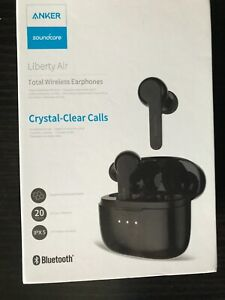 Anker Soundcore Liberty Air ipx 5 Total Wireless Earphones Black 20 hours play