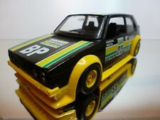 BBURAGO 9101 VW VOLKSWAGEN GTI #22 BP - BLACK 1:25 - GOOD CONDITION
