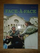 Face-a-Face 2nd Paperback Edition by Ghillebaert (Instructors Copy) 2017