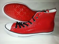 13eb5f22ebd1 NEW Converse CT Hi Barneys Limited Edition Red Patent Leather Size 9.5  (150801C)
