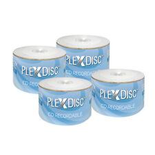 200 PC PlexDisc 52X 700 MB 80 MIN CD-R Logo Top Blank Disc Media 631-800