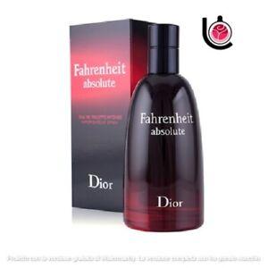 """Christian Dior """" Fahrenheit Absolute """" Eau De Toil.intense ML 50 Vintage And"""