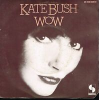 "45T 7"": Kate Bush: wow. sonopresse. A14"