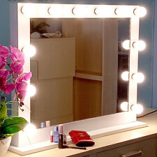 Makeup Hollywood Vanity Mirror with Light Stage Large Beauty Mirror Dimmer Us A9