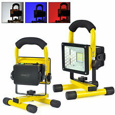 30W Outdoor Portable LED Flood Spot Rechargeable Work Light Camping Lamp