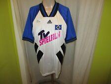 """Hamburger SV Original Adidas Auswärts Trikot 1994/95 """"TV Spielfilm"""" Gr.L"""