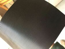 RUBBER FLOOR MATTING SAFETY FINE RIBBED ANTI SLIP 1.3 WIDE x 3mm COMMERCIAL