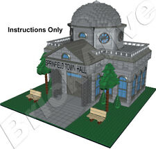 LEGO SIMPSON  Mairie de Springfield – Town Hall– INSTRUCTION PDF UNIQUEMENT - CD