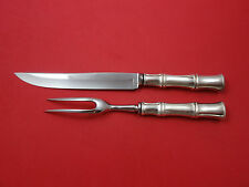 Bamboo by Tiffany and Co Sterling Silver Steak Carving Set 2-Piece Hh Ws