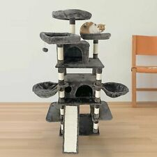 New listing 65� Multi-Level Cat Tree Large Tower with Scratching Posts Kitty Pet Play House