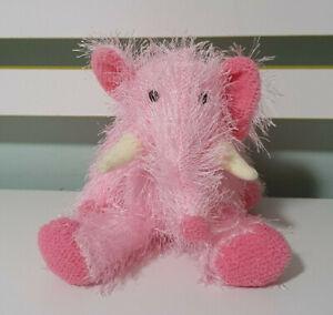 TY Beanie TY PUNKIES - PIPSQUEAK the ELEPHANT PINK ELEPHANT 2002