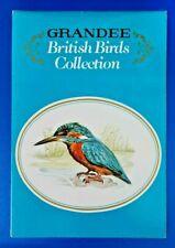 More details for vintage 1980 grandee british birds collection complete set of 32 cigarette cards