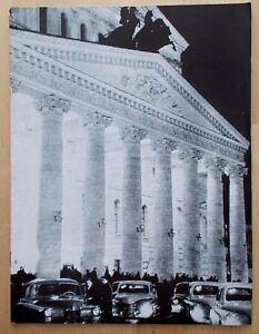 Stars of the Bolshoi Ballet programme Royal Albert Hall 1960 London Philharmonic
