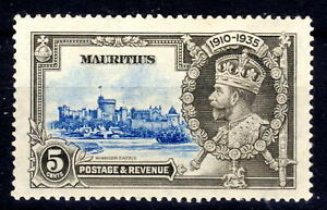Mauritius Silver Jublee item 1935 MH  KGV [M310821-2]